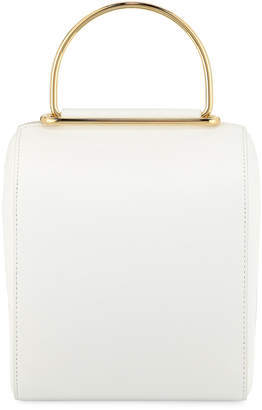 Roksanda Besa Pebbled Leather Top-Handle Bag