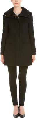 Cole Haan Slick Wool-Blend Coat