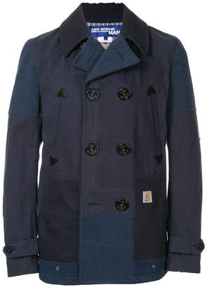 Junya Watanabe MAN Comme Des Garcons Man x Carhatt double breasted coat