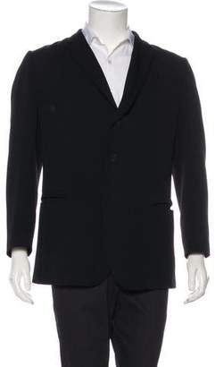Bottega Veneta Deconstructed Virgin Wool Blazer