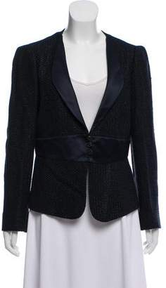 Armani Collezioni Tweed Linen-Blend Jacket