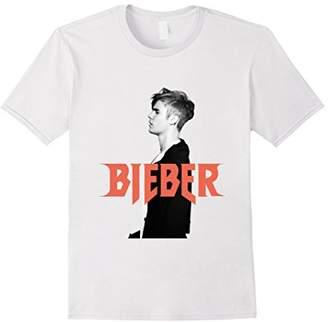 Justin Bieber Mens Logo Profile T-Shirt
