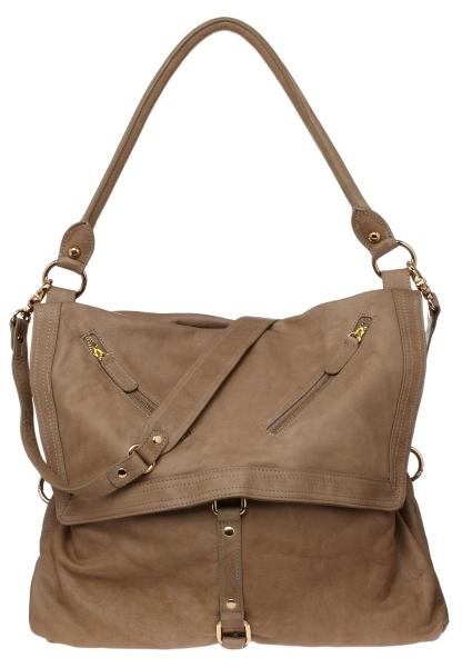 Sabina Convertible Leather Tote