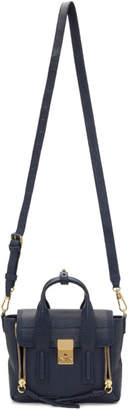 3.1 Phillip Lim Navy Mini Pashli Satchel