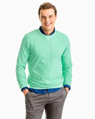 Southern Tide Twill Upper Deck Crew Pullover