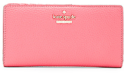 kate spade new york Stacy Wallet in Coral. $128 thestylecure.com