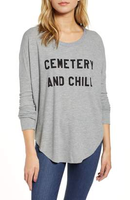 Wildfox Couture Cemetery & Chill Perry Thermal Top