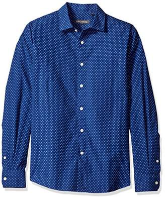 Slate & Stone Men's Thomas Long-Sleeve Point-Collar Shirt