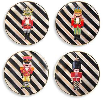 Mackenzie Childs MacKenzie-Childs Nutcracker Four-Piece Plate Set