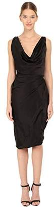 Vivienne Westwood Women's Stretch Satin Short Amber Dress