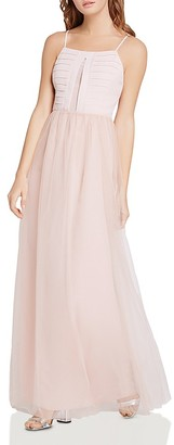 BCBGeneration Pleated-Bodice Maxi Dress $128 thestylecure.com