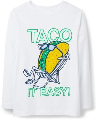 Crazy 8 Crazy8 Taco It Easy Tee