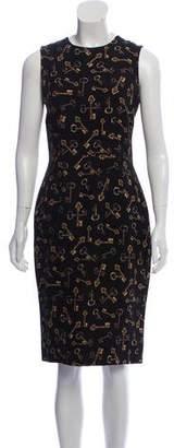 Dolce & Gabbana Sleeveless Printed Dress