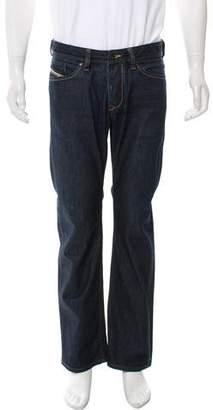 Diesel Five Pocket Bootcut Jeans