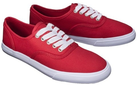 Mossimo Women's Lunea Canvas Sneakers - Red