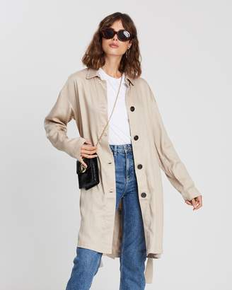 Atmos & Here ICONIC EXCLUSIVE - Tencel Trench Coat