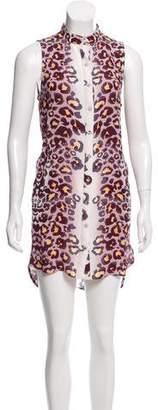 Mara Hoffman Sleeveless Button-Up Dress