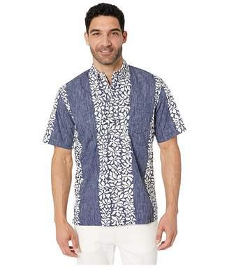 Reyn Spooner Summer Stripe Pullover Hawaiian Shirt
