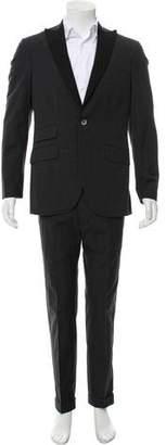 Michael Bastian Glen Plaid One-Button Tuxedo