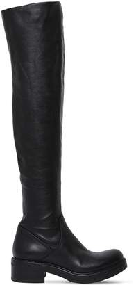 Strategia 30mm Stretch Leather Over-The-Knee Boots
