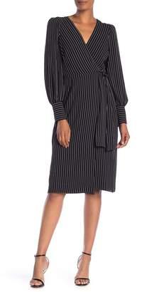 Max Studio Stripe Kimono Dress