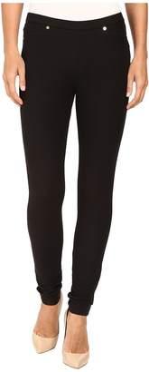 MICHAEL Michael Kors Solid Pull-On Leggings Women's Casual Pants