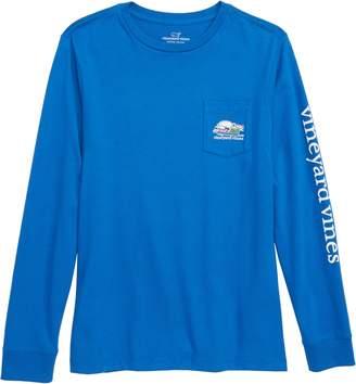 Vineyard Vines Send It Whale Pocket T-Shirt