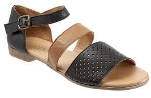 BUENO Janet Perforated Flat Sandal