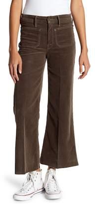 Mother Patch Pocker Roller Raw Hem Corduroy Pants