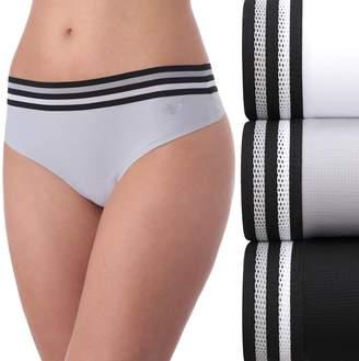 New Balance Women's 3-pack Athletic Mesh Thong Panties NB4044-3