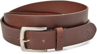 Timberland Khaki Leather Belt
