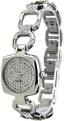 ESPRIT Women's ES102672003 Cinetta Silver Analog Cubic Zirconia Dial Watch $110 thestylecure.com