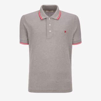 Bally Stripe Detail Polo Shirt