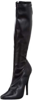 Pleaser USA Women's Domina-2000/B/PU Knee-High Boot