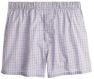J.Crew Tattersall boxers in blue