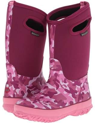 Bogs Camo Girls Shoes