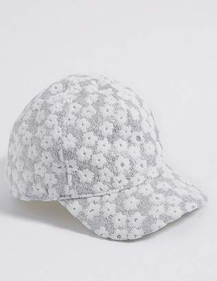 Marks and Spencer Kids' Sparkle Baseball Hat (3 Months - 6 Years)