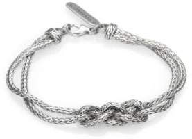 John Hardy Classic Chain Sterling Silver Braided Knot Bracelet