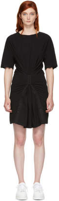 Opening Ceremony Black Hook and Eye T-Shirt Dress