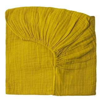 Numero 74 Fitted sheet - sunflower yellow