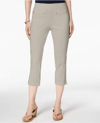 Style&Co. Style & Co Petite Pull-On Capri Pants