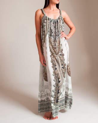 Camilla Coats of Light Drawstring Dress