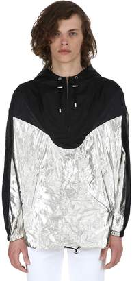 Isabel Marant Richie Metallic Nylon Raincoat