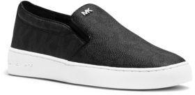 MICHAEL MICHAEL KORS Keaton Slip-On Leather Sneakers $99 thestylecure.com