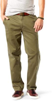 Dockers Men's D3 Classic-Fit Washed Khaki Flat-Front Pants