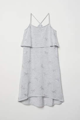 H&M Dress with Braided Straps - Gray