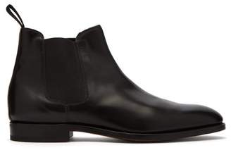 John Lobb Lawry Leather Chelsea Boots - Mens - Black