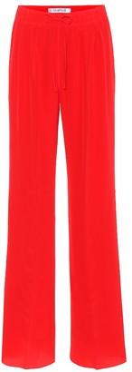 Max Mara Tremiti silk wide-leg pants