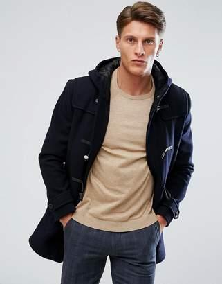 Moss Bros Wool Duffle Coat