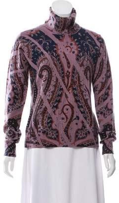 Etro Wool & Cashmere Blend Turtleneck Sweater